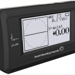 LD-2M: Dual Axis Inclinometer with Digital Display